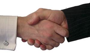 Image showing handshake