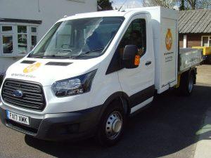 DP Fuel Tank Services New Van
