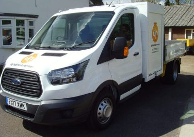 DP Fuel Tank Services New Van