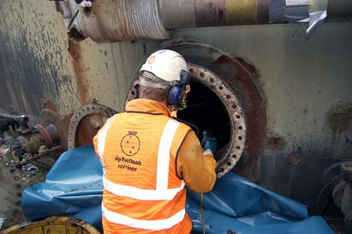 Commercial Oil and Fuel Tank Removal