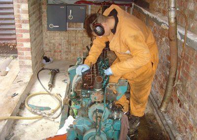 Generator Boiler Removal